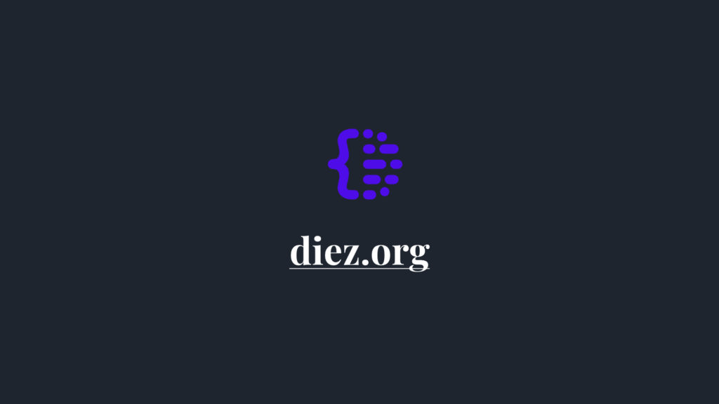 Diez logo and link